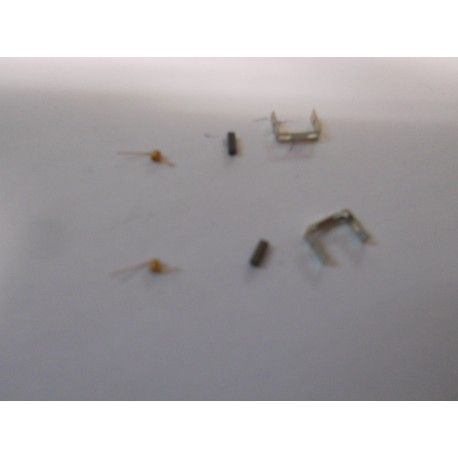 ** Fleischmann 9517 Spare Parts 1 Pair of Brushes and Springs (1 pack)