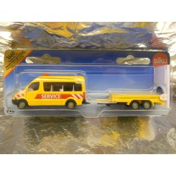 ** Siku 1660  Siku Super Transporter with Traffic Control Trailer.