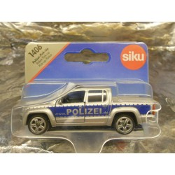 ** Siku 1406  Siku Super Police Pick-up Truck.