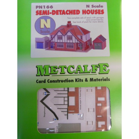 ** Metcalfe PN166  Semi Detached Houses