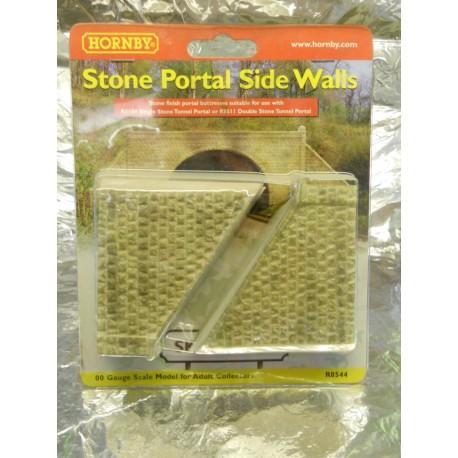 ** Hornby R8544  Stone Portal Side Walls.