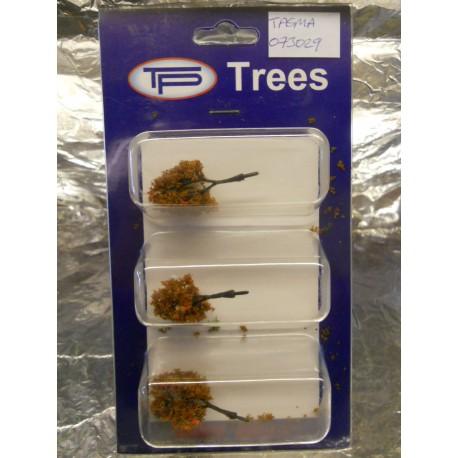 ** Tasma 073029 3 Small Oak Trees - Autumn Approx 40mm