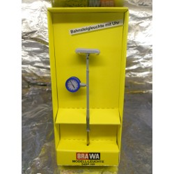 ** Brawa 5495  Platform Light with Clock. 14/16 Volts.