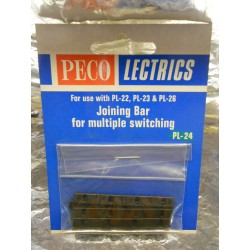 ** Peco PL-24 Joining Bar for Multiple Switching