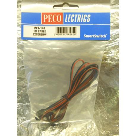 ** Peco PLS-140  SmartSwitch 1m Cable Extension.
