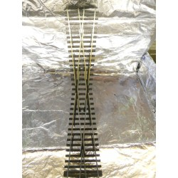 ** Peco SL-E194 Code 75 ( Finescale) Electrofrog Large Crossing