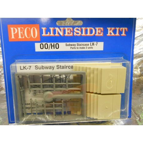 ** Peco LK-7 Subway Staircase (Parts to make 2 units)
