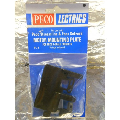 ** Peco PL-8 Motor Mounting Plate for Peco G Scale Points