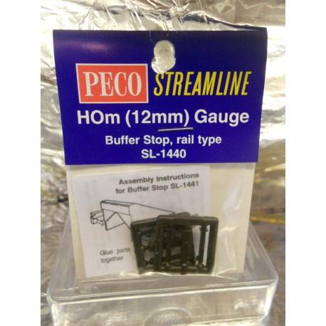 ** Peco SL-1440  Buffer Stop Rail Built Type 2 per Pack.