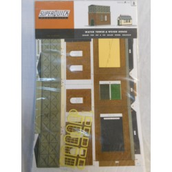 ** SuperQuick A8 Water Tower & Weigh House Card Kit
