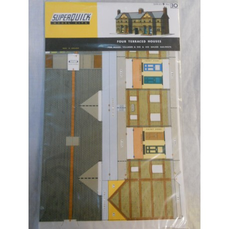 ** SuperQuick B30 Four Terraced Houses Card Kit