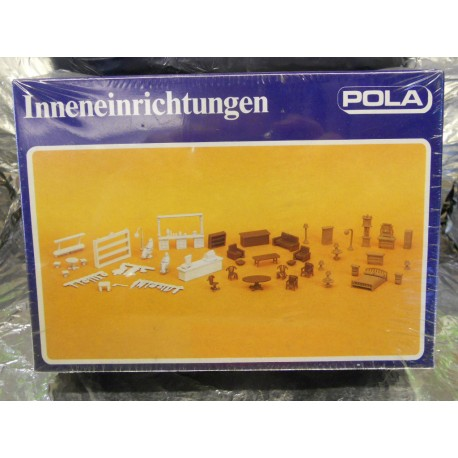 ** Pola 460 Interior Fittings - Shelves, Sales Counter, Lounge and Bedroom Furniture Kit