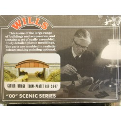 ** Wills SS47 Scenic Series Girder Bridge (Bow Plate) Kit