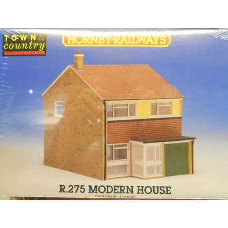 ** Hornby R275 Modern House (Town & Country Costuction Kit)