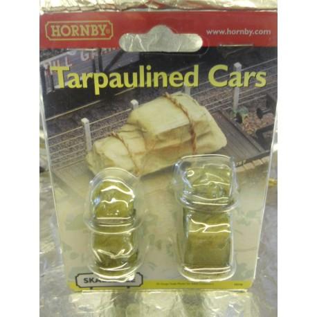 ** Hornby R8598 Tarpaulined Cars (2)