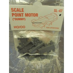 **  Peco SL-47 Dummy Scale Point Motor Pack Contains 6 pieces