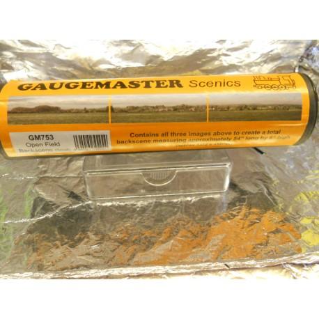 ** Gaugemaster GM753 Open Field Backscene (Small)