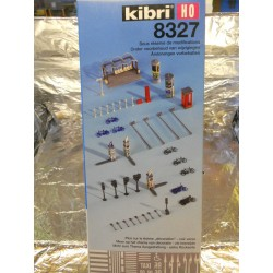 ** Kibri 8327  City Street Accessories Kit