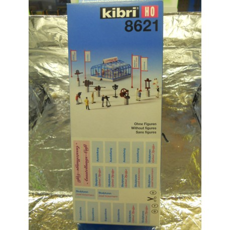 ** Kibri 8621 Cafe and Accessories (Figures not Included)