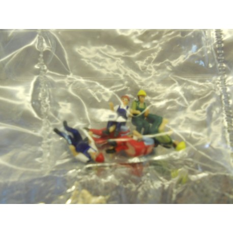 ** Herpa 052498  Driver Figures for Constuction Vehicles  6 Figures.
