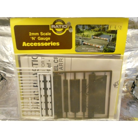 ** Ratio 235 Level Crossing  (Barriers) Kit