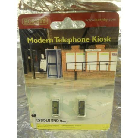 ** Hornby N8760 Lyddle End Modern Telephone Kiosk (2)