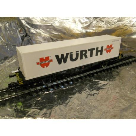 ** Fleischmann 875240 Container wagon Wurth
