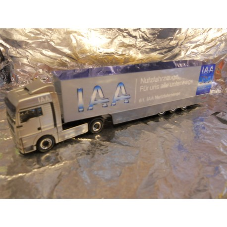 "** Herpa 280495 MAN TGA XLX Box Semitrailer ""IAA2006"""