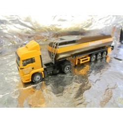 """** Herpa 148238 MAN TGA LX Bitumen Tank Semitrailer """"Baufeld"""""""