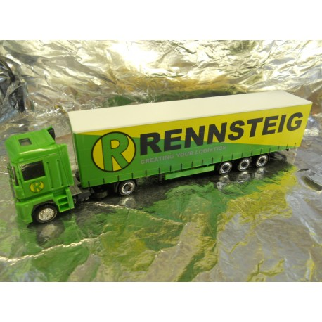 ** Herpa 282413  Renault Magnum Jumbo Curtain Canvas Semitrailer Rennsteig