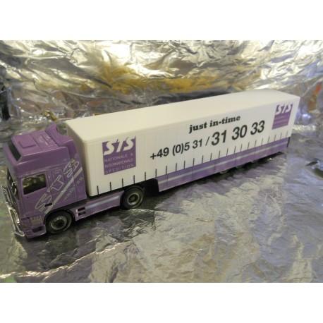 ** Herpa 148139 DAF XF Safeliner Semitrailer STS