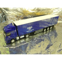 "** Herpa 295772  MB Actos Curtain Canvas Semitrailer  "" Gertner ""."