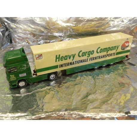 ** Herpa 193337 DAF XF HCC LKW 2011 Heavy Cargo Company