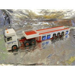 ** Herpa 155946 Mercedes Benz Actros LH 08 Cement-Part Transporter Hausmann
