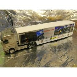 "** Herpa 149051 Mercedes Benz Actros LH Safeliner semitrailer ""Zentrallager West"""