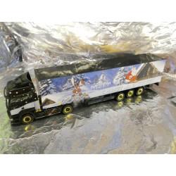 "** Herpa 153768 Renault Premium Box Semitrailer ""Christmas 2007"""