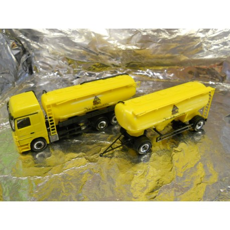 "** Herpa 294546  MB Actros MP3 LH Spitzer Silo Trailer,  "" Lettenmuhle ""."