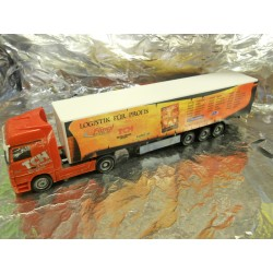 "** Herpa 273596 Mercedes Benz Actros LH '02 Curtain Canvas Semitrailer ""TCH"""