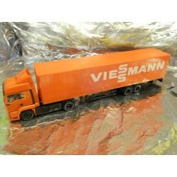 """** Herpa 292610 MAN TGS LX Curtain Canvas Semitrailer """"Viessmann"""""""