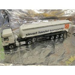 "** Herpa 297806  MB Actros L 08 Silo Semitrailer  "" Sievert ""."
