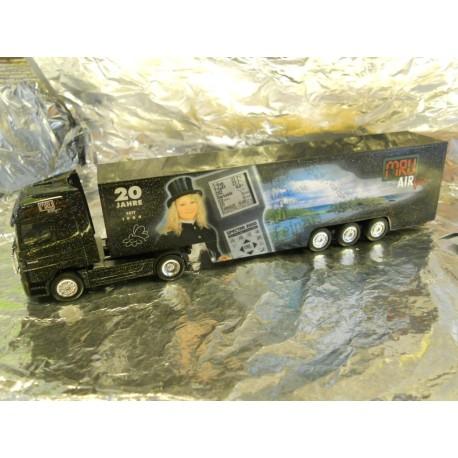 ** Herpa 272247 Mercedes Benz Actros L Box Semitrailer MRU