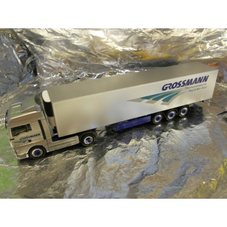 ** Herpa 279260 MAN TGX XLX Refrigerated Box Semitrailer Grossmann