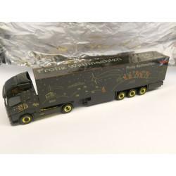 ** Herpa 303941 Volvo FH Gl. XL Box Semitrailer Herpa Weihnachtstruck 2014