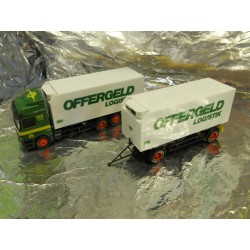 ** Herpa 146753 Mercedes Benz Actros L Interchangeable Pick-up Trailer Offergeld