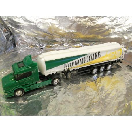"** Herpa 150224 Scania Conventional Jumbo Tank Semitrailer ""Kuemmerling"""