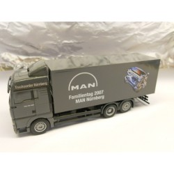 ** Herpa 285582 MAN TGA XLX Box Trailer MAN
