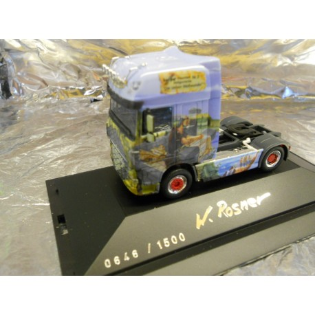 """** Herpa 281645 DAF XF105 SSC Rigid Tractor """"The Seven Wonders of the World"""""""