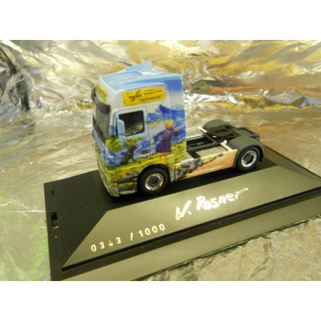 "** Herpa 292177 Mercedes-Benz Actros LH Rigid Tractor ""Herpa Presents IV / Crusaders"""