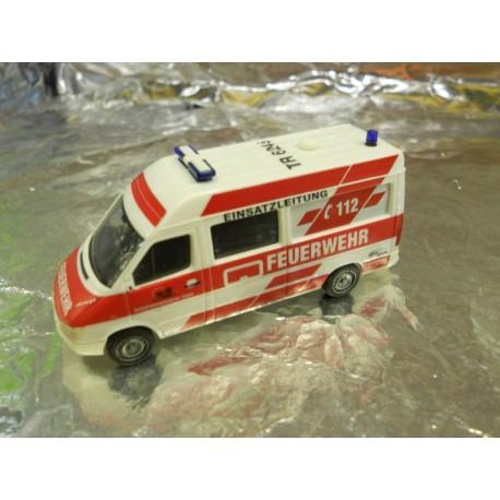 """** Herpa 275347  Mercedes-Benz Sprinter facelift """"Trier fire Department""""."""