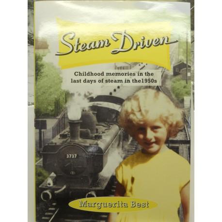 ** Kinna Publications 001 'Steam Driven' by Margeurita Best Signed Hard Back Novel